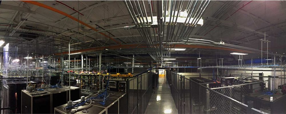 Serveris Colocation Room view in our Data Center